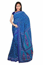 mousseline Bollywood Carnaval SARI ORIENT INDE fo439