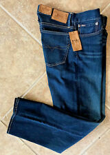 Polo Ralph Lauren Mens Jeans 32 32 Thompson Relaxed Fit Medium Wash Stretch NWT