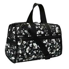 LeSportsac Classic Collection Medium Weekender Duffel Bag in Lovely Night NWT