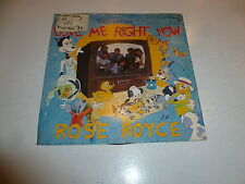 "ROSE ROYCE - Love Me Right Now - Deleted 1985 UK 2-Track 7"" Vinyl Single"