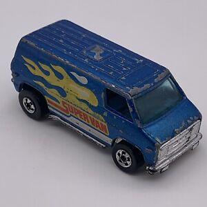 1974 Hot wheels Super Van Vintage Blue Metallic. Nice Condition