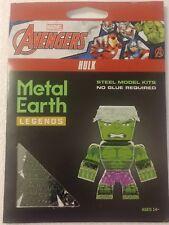 Marvel Advengers Hulk Metal Earth Legends 3D Steel Laser Cut Model Kit Mem003
