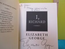 Elizabeth George I RICHARD SIGNED American 1st ed hc Bantam 2002 short stories