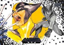 WOLVERINE / Marvel Anime 2020 (Upper Deck) BASE Card #2 Art by PEACH MOMOKO