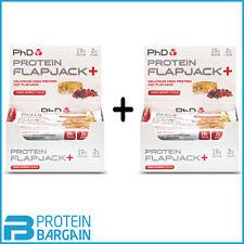 PHD Nutrition Protein Flapjack 12 X 75g Flapjacks Peanut Butter