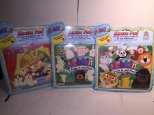 """WEBKINZ RARE """"Come In And Play"""" MOUSE PADS (3)- NEW UNOPENED PACKAGE WITH CODE"""