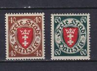 DANZIG GERMANY 1935, Mi#243-244, MH