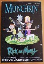 USAopoly MUNCHKIN Rick and Morty Edition IN HAND ships fast!