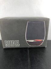 Riedel Cabernet/Merlot Tumblers Stemless Wine Glasses-2 Pack