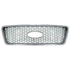 2004-08 Ford F-150 F150 F 150 XLT Lariat Chrome Grill Grille Insert Overlay
