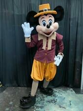 Mickey Mouse Pilgrim Thanksgiving Character Mascot Costume Cosplay Party Event