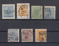 N3869/ SWEDEN – 1855 / 1870 USED CLASSIC LOT – CV 310 $