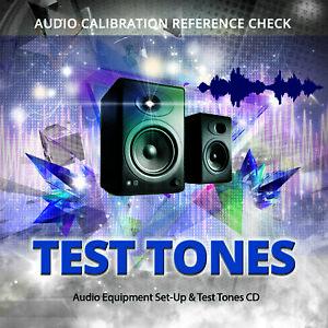 Audio Equipment Set Up & Test Tones CD