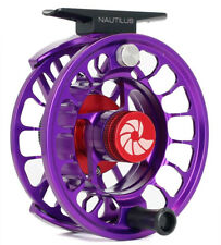Nautilus X Series XM Reel (4-6 WT) Custom Color Violet - Free US Shipping