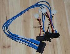 New Molex 68562-0034 SFF-8484 to SFF-8482 x4 Cable 60cm