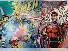 X-Men #1 poster Jim Lee Foil Print Marvel Comics Wolverine Cyclops Magneto Storm