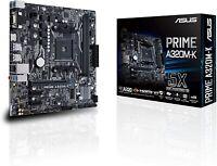 Asus Prime A320M-K AMD Ryzen AM4 Motherboard AMD Socket AM4 AMD A320 M2 M.2 SSD