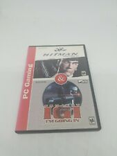 PC GAMING HITMAN CODENAME 47 PROJECT IGI VIDEO GAME RATED M FREE SHIPPING IN USA