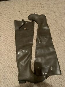 proline insulated hip boots. size 8.