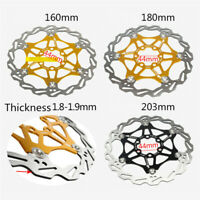 1PC Disc Floating Rotor 160/180/203mm For SNAIL MTB Mountain Bike Bicycle Brake