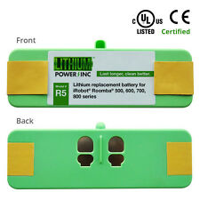 Lithium Roomba Replacement Battery For iRobot Roomba 980, 960, 500 to 800 Series