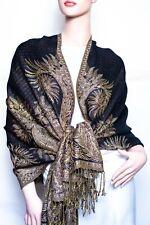 Big Paisley Thicker Pashmina Shawl / Wrap / scarves 17 colors  us wholesaler