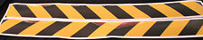 Yellow/Black Class 2 Reflective Tape 100mm x 1.15m Pair (Left & Right Direction)