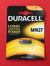 DURACELL Security MN27/27A/A27 12V Alkaline Battery for Security Devices NEW