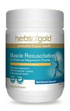HERBS OF GOLD - MUSCLE RESUSCITATION 150GM - HIGH DOSE MAGNESIUM + FREE SAMPLE
