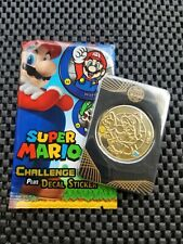 Nintendo Super Mario Challenge Coins Enterplay 2016 GOLD MARIO 24KGP ULTRA RARE