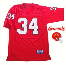 New Jersey Generals USFL Jersey Customized Herschel Walker Doug Flutie