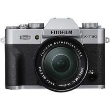 Fujifilm X-T20 Mirrorless Digital Camera - Silver with 16-50mm Lens