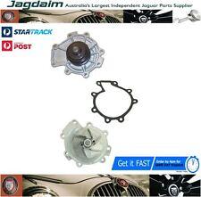 JAGUAR X-TYPE 2.5 3.0 V6 WATER PUMP METAL IMPELLER + PULLEY + GASKET C2S43292