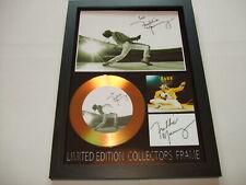 freddie mercury    SIGNED  GOLD CD  DISC 89