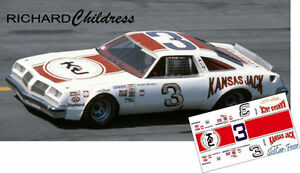 CD_2894 #3 Richard Childress 1976 Oldsmobile Cutlass 1:24 Scale DECALS