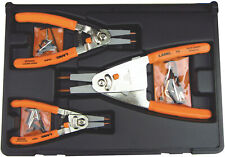 Lang 3pc Hi-Tech Retaining Ring Pliers set w/ Quick Switch Lever & Tips USA 1465