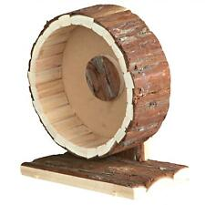 Trixie Natural Living Exercise Wheel for Mouse, Dwarf Hamsters 20cm Natual Wood