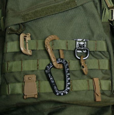 Outdoor Tactical Carabiner Buckle Molle Hook Backpack Military Camping Climbing