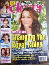 Duchess KATE Closer Magazine February  2017 JUDY GARLAND Robert Redford