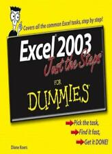 Excel 2003 Just the Steps For Dummies-Diane Koers