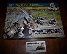 WWII Sherman M32B1 Recovery Vehicle Bergepanzer 1:35 Italeri 6547  Neu