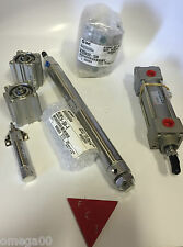 SMC ncda1d150-0300 PNEUMATIC CYLINDER 300 mm stroke + Pin  NEW IN THE BOX!