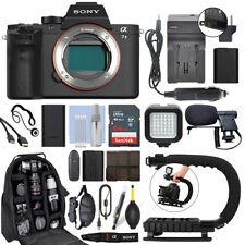 Sony Alpha a7 II Mirrorless 24.3MP Digital Camera Body + 64GB Pro Video Kit