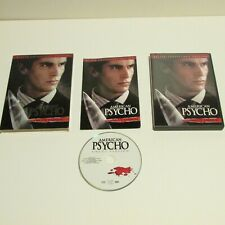 American Psycho With Slip Cover - Uncut Version Killer Collector's Edition Dvd