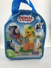 mega bloks thomas & friends sights of sodor thomas at the mill train bag