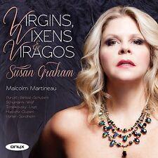 Susan Graham & Malcolm Martineau - Virgins, Vixens & Viragos (SEALED CD 2012)