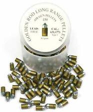 Skenco Golden Rod Long Range airgun air rifle pellets 0.177 150pcs superior qual