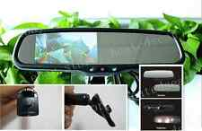 """Auto dimming mirror+4.3"""" LCD display,fits Honda accord,civic,insight,Fit,Odyssey"""