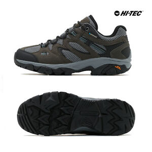 Hi-Tec Mens Ravus Vent Lite Low Top Waterproof Walking Hiking Outdoor Shoes