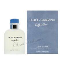 Dolce & Gabbana Light Blue Pour Homme Eau de Toilette Spray 2.5oz 75ml * New *